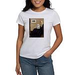 Whistler's Mother Maltese Women's T-Shirt