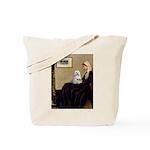 Whistler's Mother Maltese Tote Bag