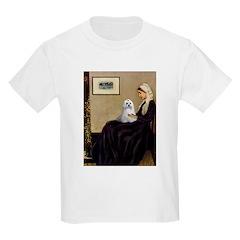 Whistler's Mother Maltese T-Shirt