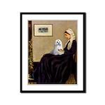 Whistler's Mother Maltese Framed Panel Print