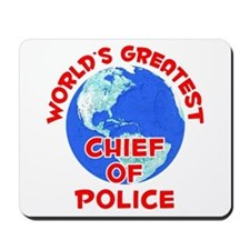World's Greatest Chief.. (F) Mousepad
