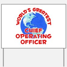 World's Greatest Chief.. (F) Yard Sign