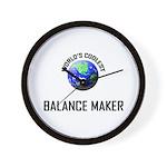 World's Coolest BALANCE MAKER Wall Clock