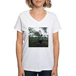 anchor Women's V-Neck T-Shirt