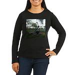 anchor Women's Long Sleeve Dark T-Shirt