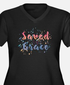 Saved by Grace Plus Size T-Shirt