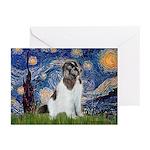 Starry Night / Landseer Greeting Cards (Pk of 20)