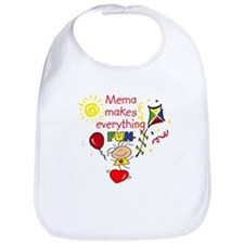 MeMa Fun Girl Bib
