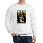 Mona and her Parti Pom Sweatshirt