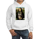 Mona and her Parti Pom Hooded Sweatshirt