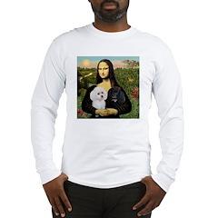 Mona & 2 Poodles Long Sleeve T-Shirt