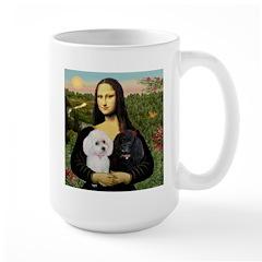 Mona & 2 Poodles Mug