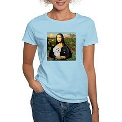 Mona & 2 Poodles T-Shirt