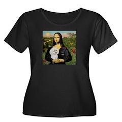 Mona & 2 Poodles T