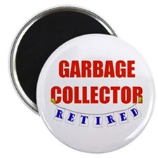 """Retired Garbage Collector 2.25"""" Magnet (100 pack)"""