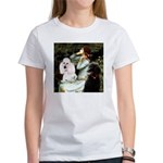 Ophelia / Poodle pair Women's T-Shirt