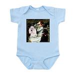 Ophelia / Poodle pair Infant Bodysuit
