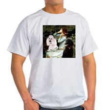 Ophelia / Poodle pair T-Shirt