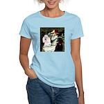 Ophelia / Poodle pair Women's Light T-Shirt