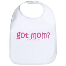 pink-got mom? Bib