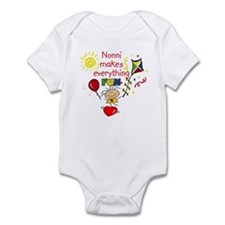 Nonni Fun Girl  Infant Bodysuit