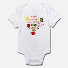 Nonni Fun Girl  Infant Bodysuit
