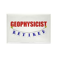 Retired Geophysicist Rectangle Magnet