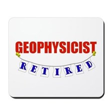 Retired Geophysicist Mousepad