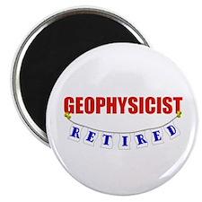 "Retired Geophysicist 2.25"" Magnet (100 pack)"