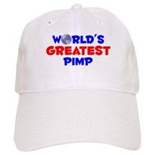 World's Greatest Pimp (A) Baseball Cap