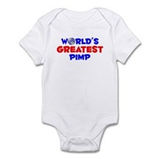 World's Greatest Pimp (A) Infant Bodysuit