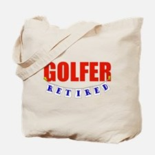 Retired Golfer Tote Bag