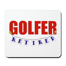 Retired Golfer Mousepad