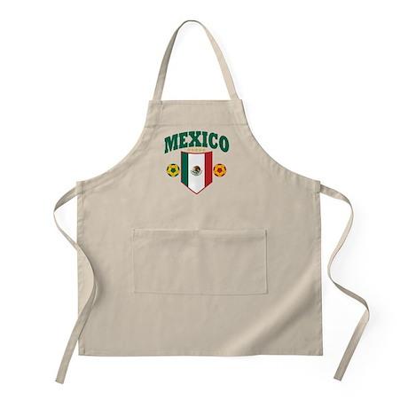 Mexico Soccer BBQ Apron