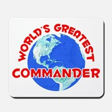 World's Greatest Comma.. (F) Mousepad