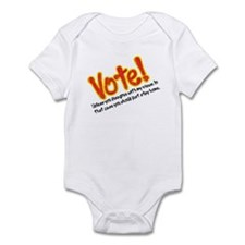 Vote if You Agree with Me Infant Bodysuit