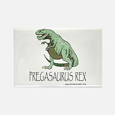 pregasaurus rex Rectangle Magnet
