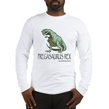 pregasaurus rex Long Sleeve T-Shirt