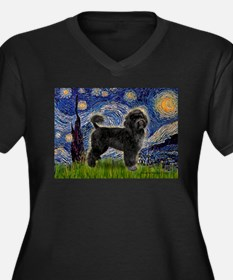 Starry Night / PWD (#2) Women's Plus Size V-Neck D