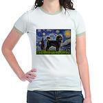 Starry Night / PWD (#2) Jr. Ringer T-Shirt