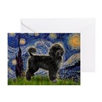 Starry Night / PWD (#2) Greeting Cards (Pk of 20)