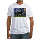 Starry Night / PWD (#2) Fitted T-Shirt