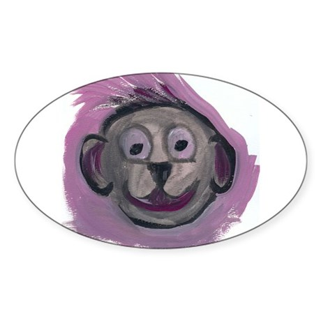 spunky monkey sticker