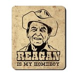 REAGAN Is My Homeboy - Retro Mousepad