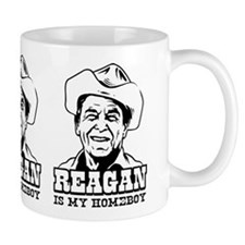 REAGAN is My Homeboy -Coffee Small Mug