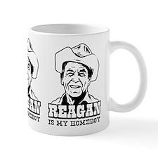 REAGAN is My Homeboy -Coffee Small Mug