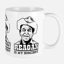 REAGAN is My Homeboy -Coffee Small Small Mug