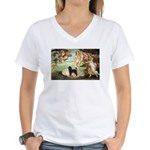 Venus * /PWD Women's V-Neck T-Shirt