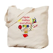 Papaw Fun Girl Tote Bag