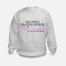 My Everything Coastie Sister Sweatshirt